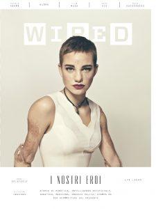 Wired Edizione Inverno con Bebe Vio