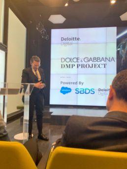 Luca al Workshop Deloitte sulle DMP