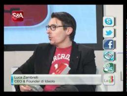 Luca Zambrelli a SmartApp con Silvia Vianello